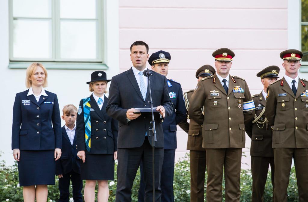 MEIE KANGELASED I Peaminister tunnustas võidupühal meie igapäevaseid kangelasi ja kodanikujulgust
