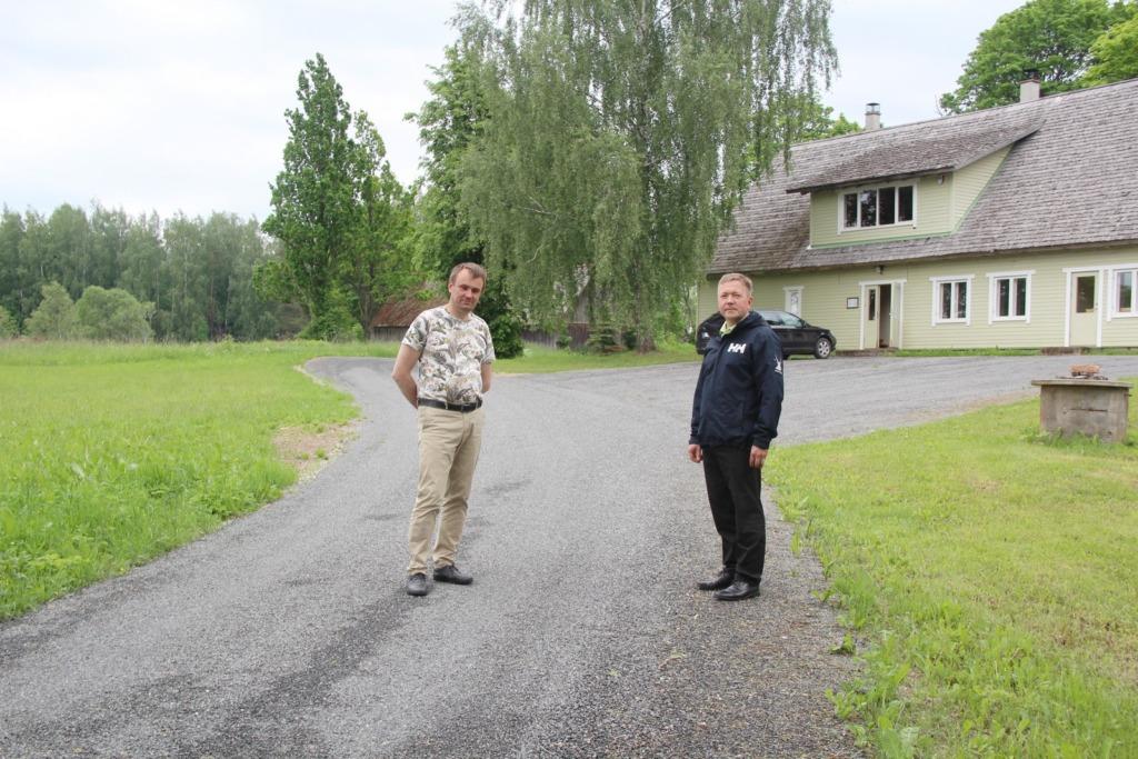 TÕUTSI KÜLATEE I Jaanus Barkala: see on väga hea näide valla ja külaelanike koostööst