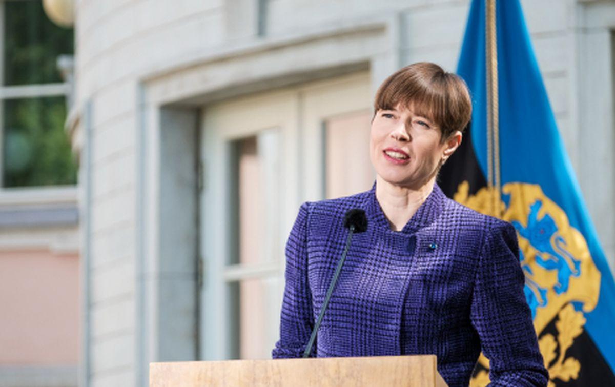 Kersti Kaljulaid Mattias Tammet – presidendi kantselei