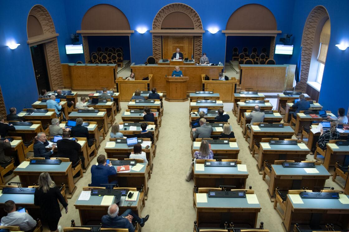 Riigikogu istung (Foto Erik Peinar)