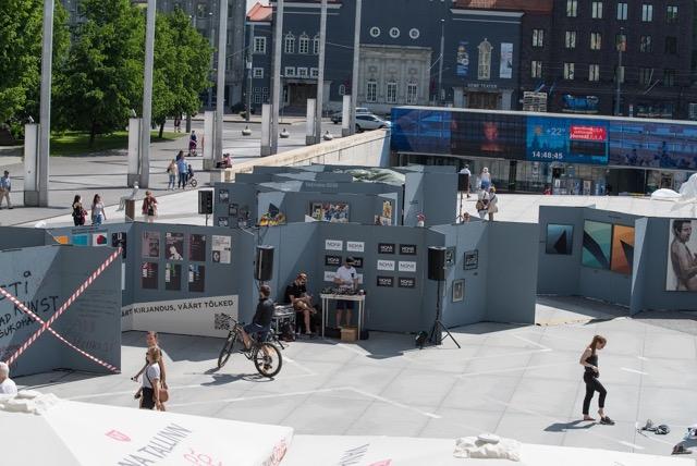 Suur kunstipäev Vabaduse väljakul – Tallinn Art Week 2018