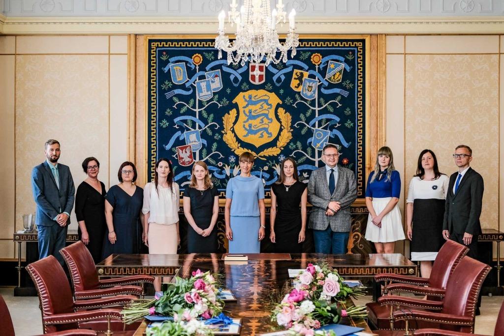 KOHTUNIKUD I President Kaljulaid nimetas ametisse üheksa uut esimese astme kohtunikku