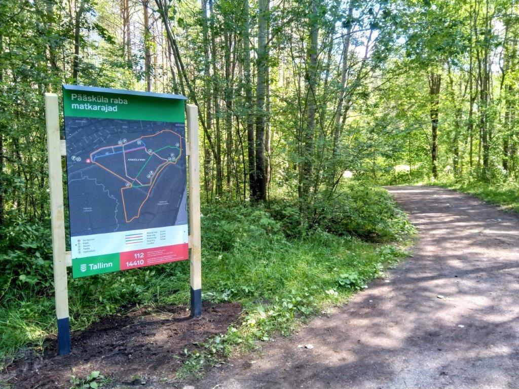 MINE MATKARAJALE I Pääsküla raba kaitsealale paigaldati uued kaardid ja suunaviidad
