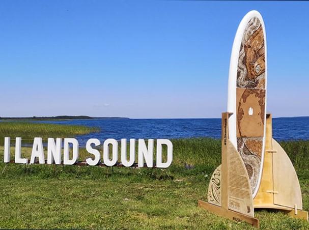 KONILAUD I Mullu I Land Sound festivalil kokku kogutud konidest valmis aerusurfi laud