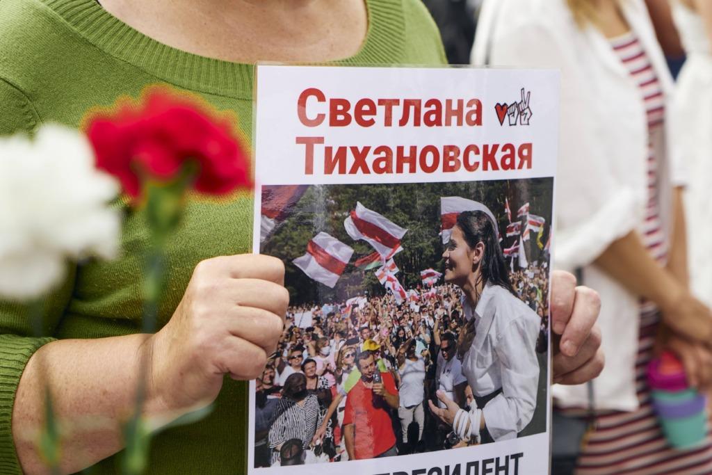 JUBA HOMME I Solidaarsuskett Valgevene toetuseks ulatub sadu kilomeetreid ümber maailma