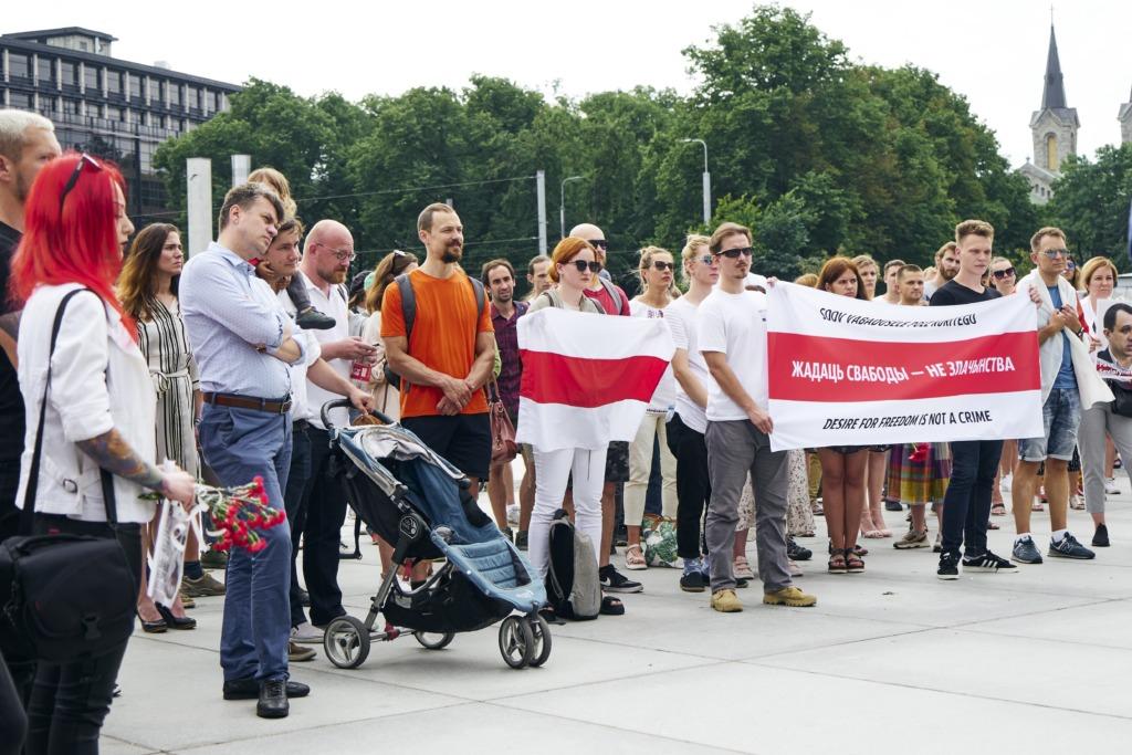 Täna moodustatakse Tallinnas Solidaarsuskett Valgevene toetuseks