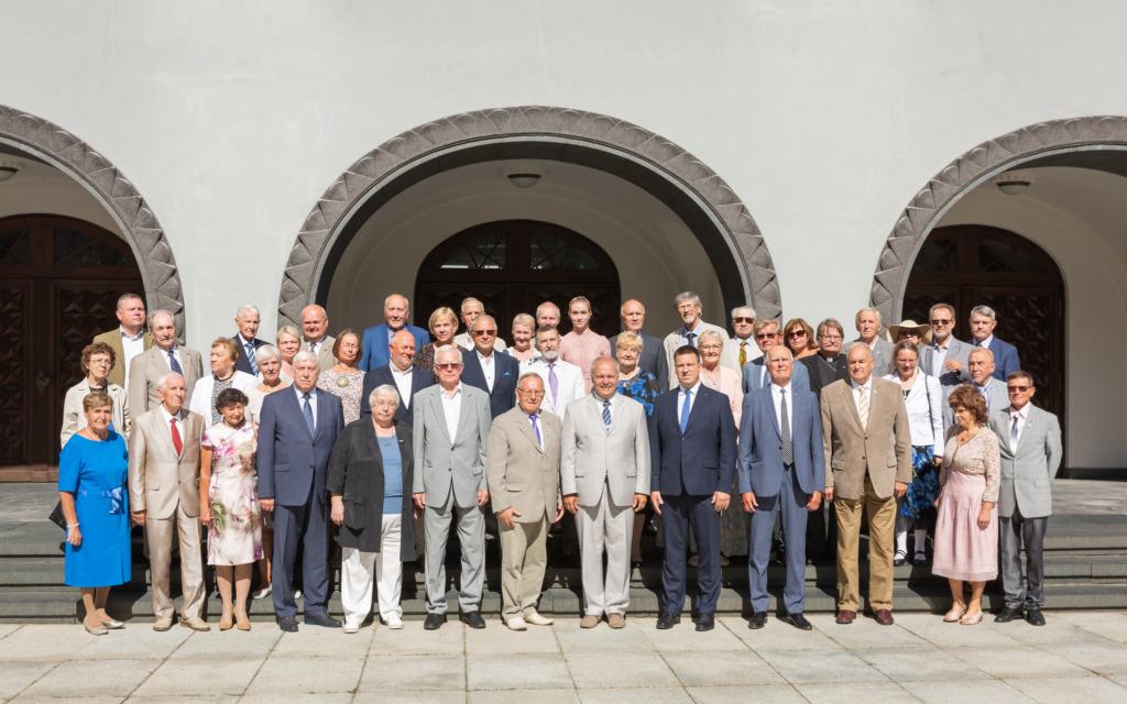 FOTOD I Peaminister tänas Eesti Vabariigi taastamises ja ülesehitamises osalenuid