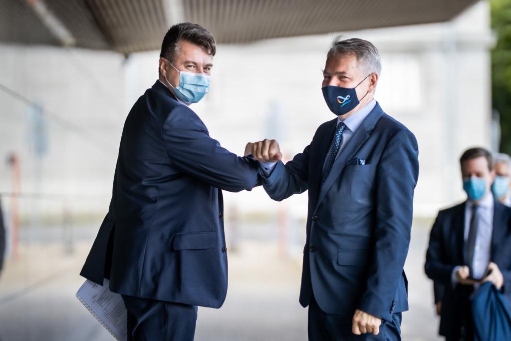 Reinsalu kohtumisel Soome välisministri Pekka Haavistoga: töötame selle nimel, et piirid ei läheks lukku
