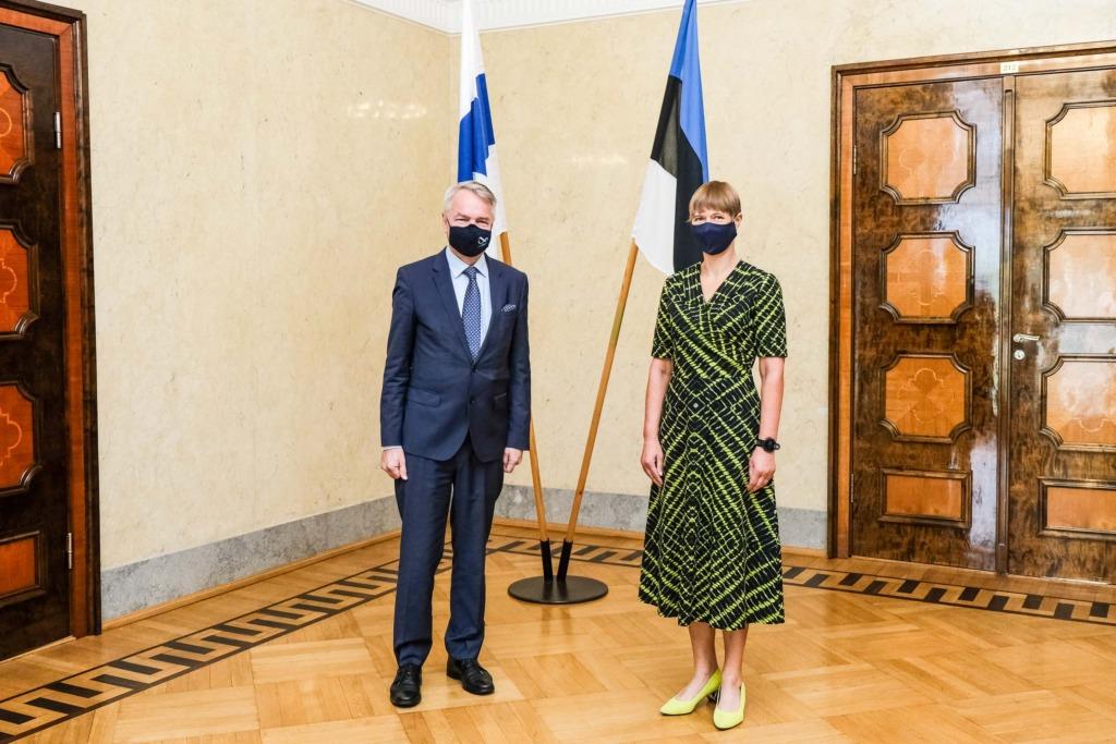 PILTUUDIS I President Kaljulaid kohtus Soome välisministriga