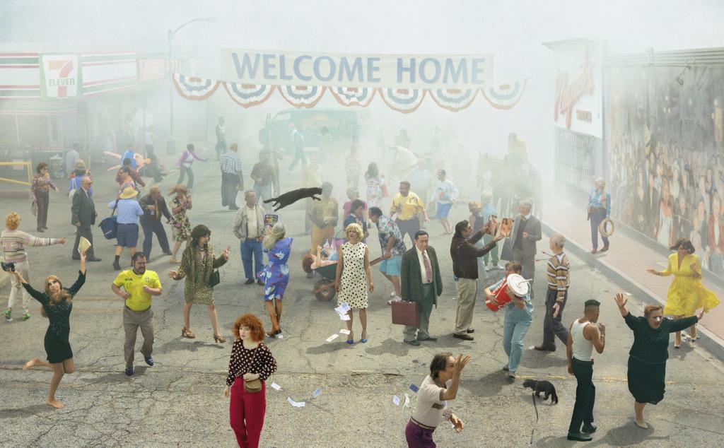 """Homsest on Fotografiskas avatud Ameerika foto- ja filmikunstniku näitus """"Tere tulemast koju"""""""