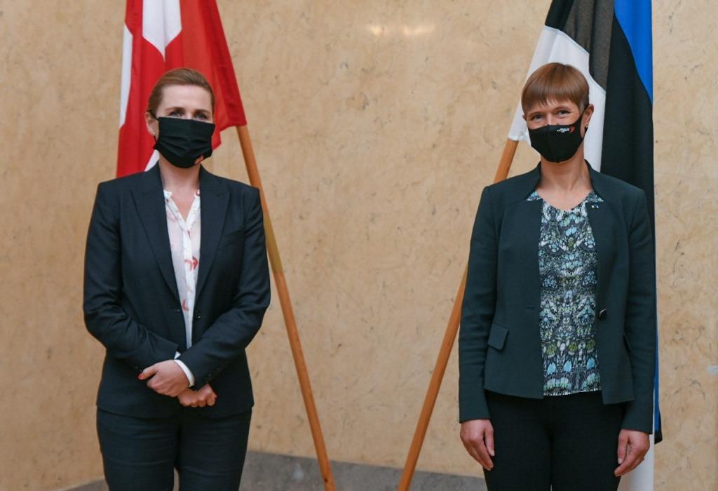 FOTOD I President Kaljulaid kohtus Taani peaministriga