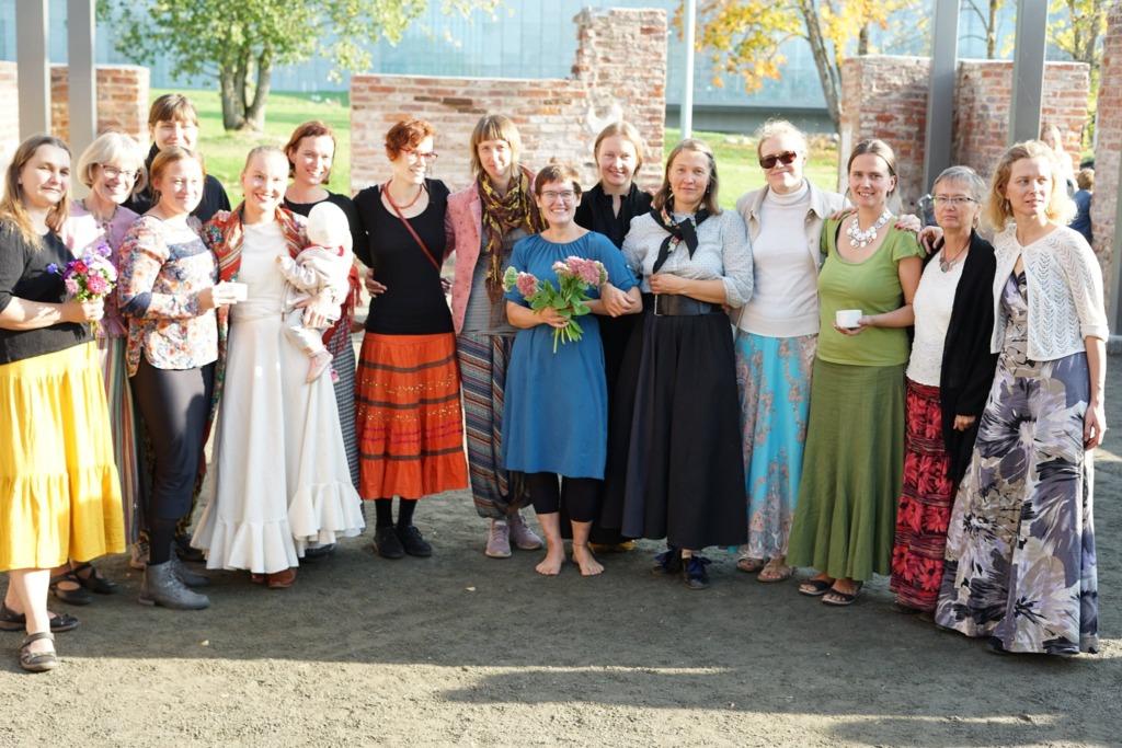 Väike Hellero kogumiku Regilaulu lugu esitlusel ERMis 27.09.2020 Foto L. Barbo