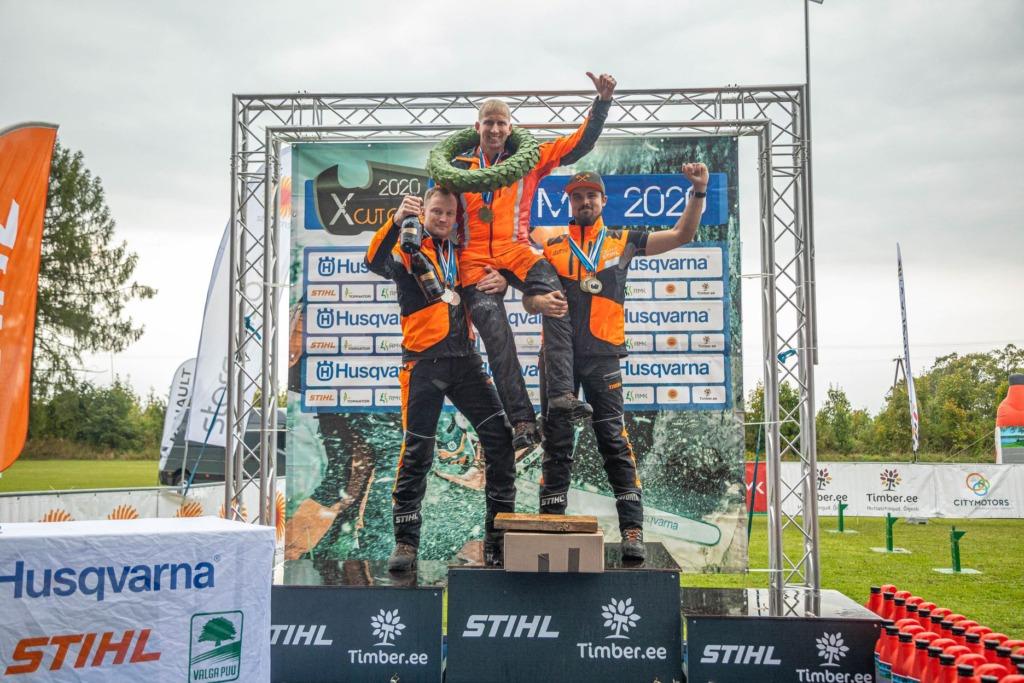 PALJU ÕNNE I Eesti meistriks raiespordis tuli Janno Traks