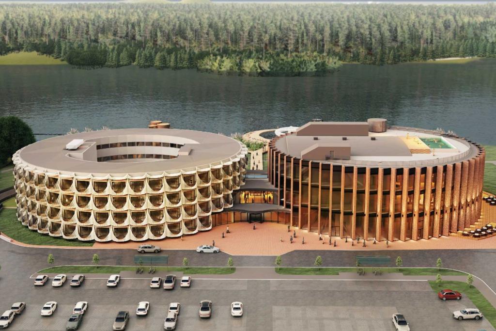 Viljandi linnavalitsus andis spaahotellile ehitusloa
