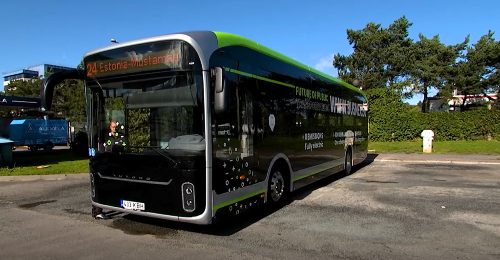 electric bus.TV3