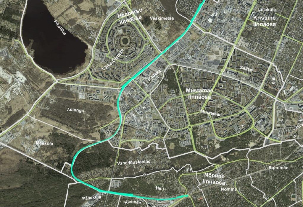 Tallinn osaleb rahvusvahelises Rohelise kiirtee projektis