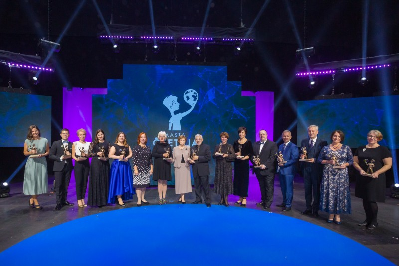 Haridustöötaja elutööpreemia pälvisid Laine Belovas, Talvi Märja ja Aleksei Turovski