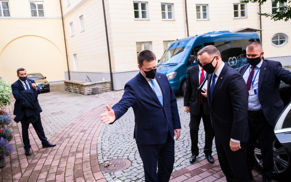 Jüri Ratas kohtumine Andrzej Dudaga