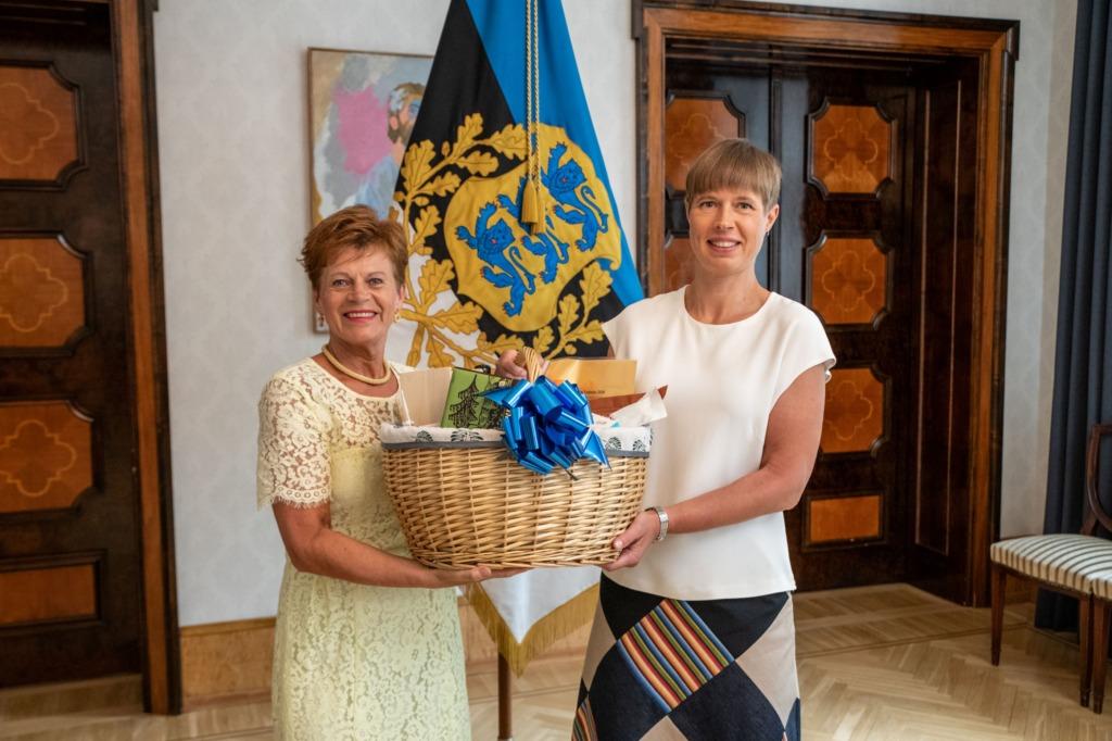 President Kaljulaid tänas toidutootjaid: hoolimata keerulisest kevadest oli toit alati laual