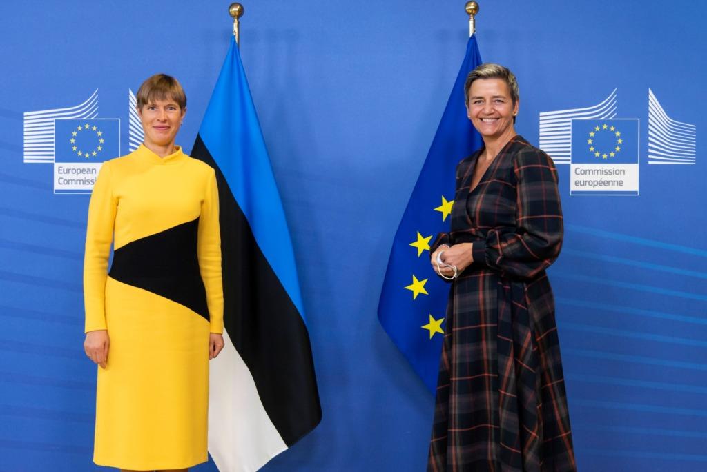 President Kaljulaid Brüsselis: Euroopa majanduse taaskäivitamine peab andma uue hoo digi- ja rohepöördele