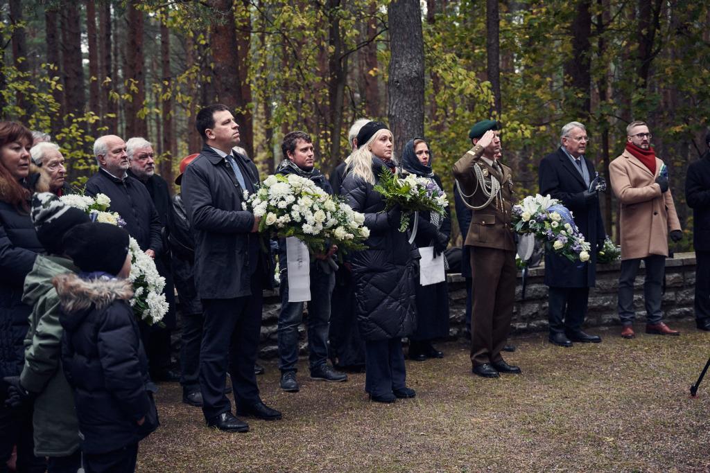 Metsakalmistul mälestati Konstantin Pätsi Foto Henri-Kristian Kirsip