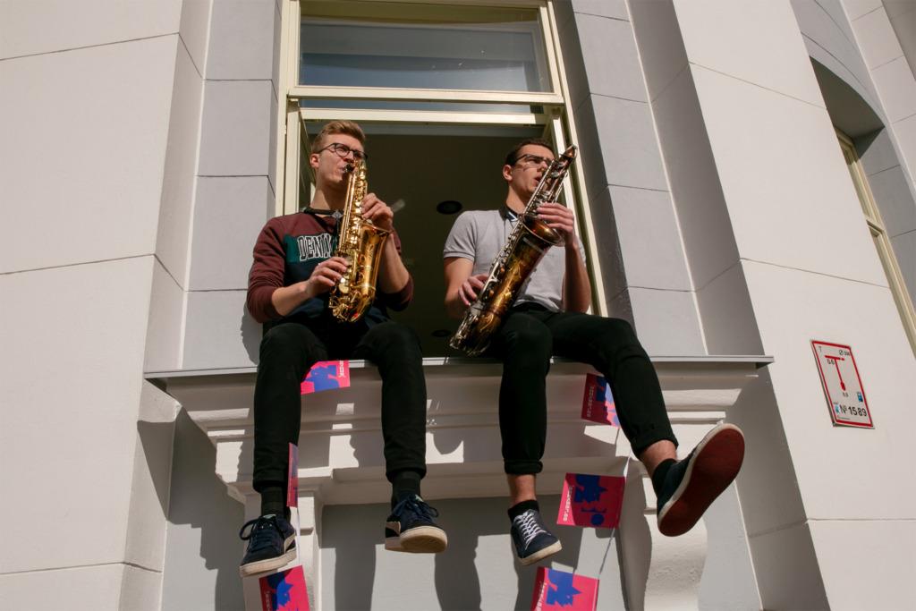NII LAHE IDEE I Jazzkaare linnaruumiprojekt toob muusika kontserdisaalist linnapilti