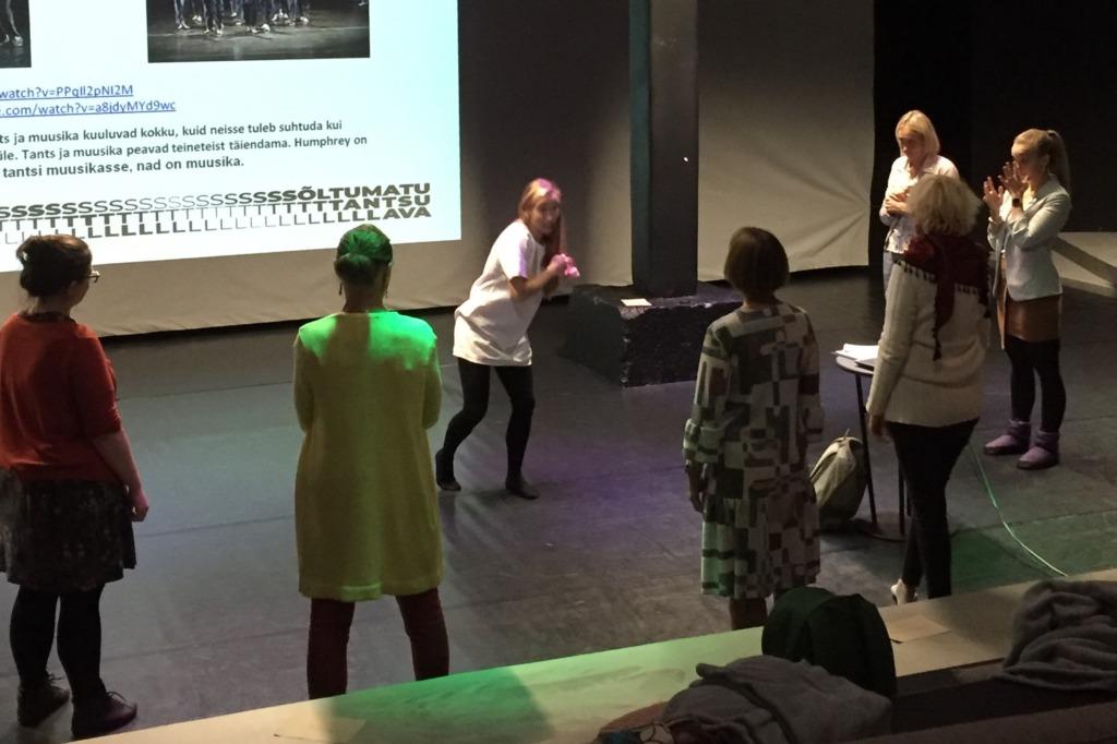 Sõltumatu Tantsu Lava uus loeng-töötuba avab nüüdistantsu tähendust