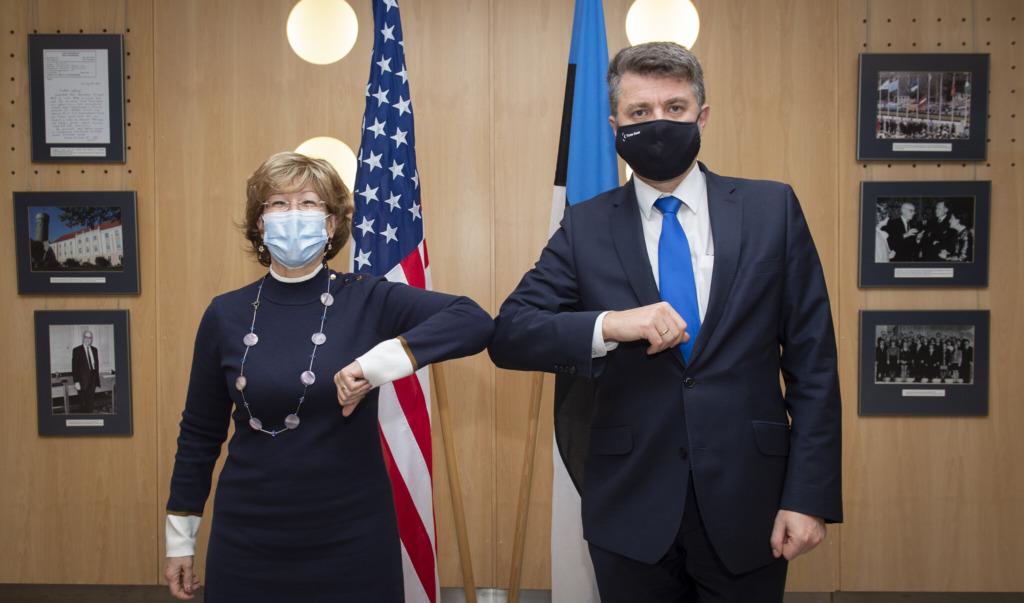 Urmas Reinsalu ja Bonnie Glick