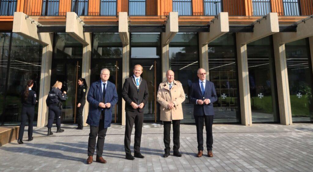VIDEO I Narvas avati pidulikult Sisekaitseakadeemia ning Tartu Ülikooli ühine õppe- ja majutushoone