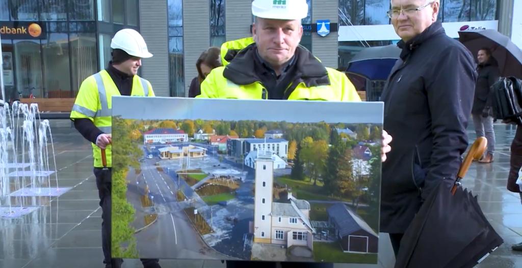 VIDEO I Kaua tehtud kaunikene! Kärdla uus keskväljak sai pidulikult avatud