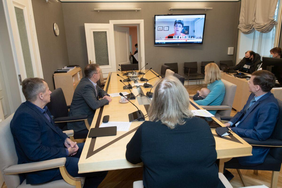 RIIGIEELARVE I Riigikogu komisjonid arutasid videokohtumisel IMFi  delegatsiooniga riigieelarve koostamise küsimusi