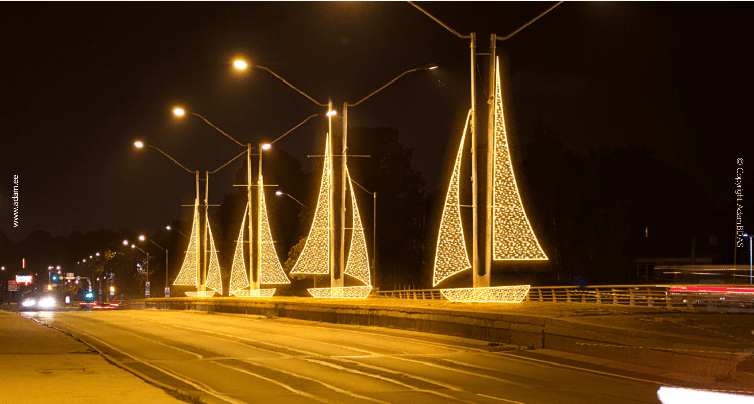 Tallinnast saab rohkete valguslahendustega muinasjutumaa
