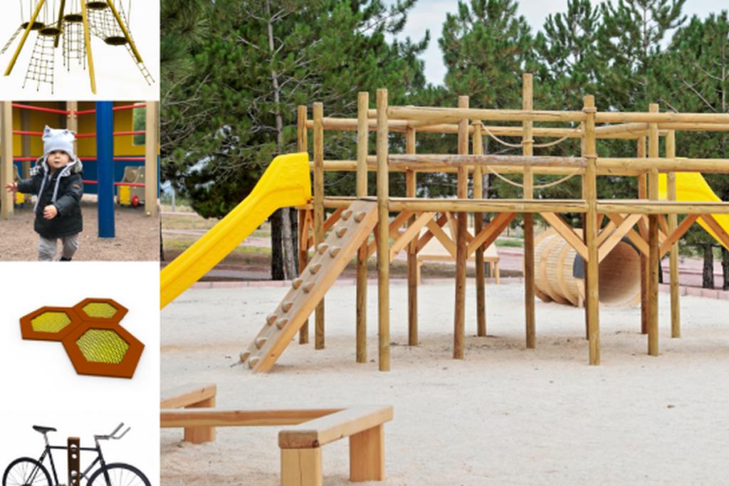 UUS MÄNGUVÄLJAK I Kaasaegne peremänguväljak rajatakse Nõmmele Vabaduse parki