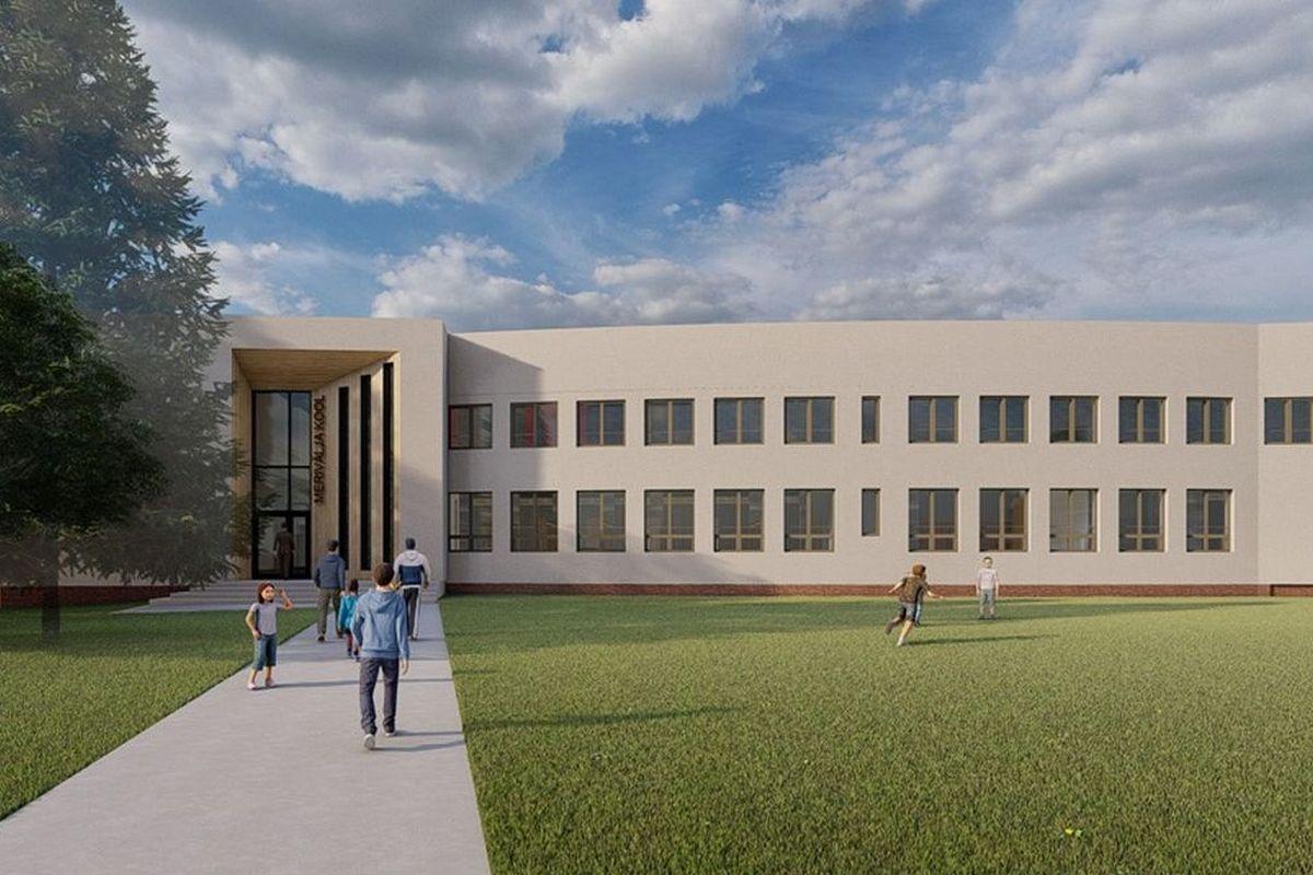 Merivälja kooli laienduseks on plaanitud ligi 800 000 eurot