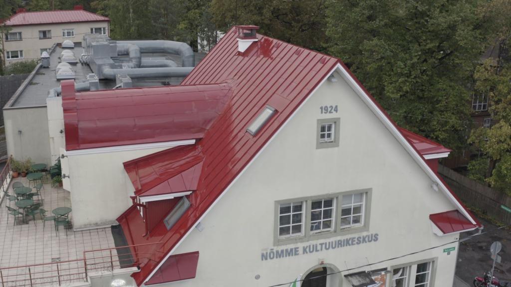 Kultuurikeskuse terrass ja katus 2018