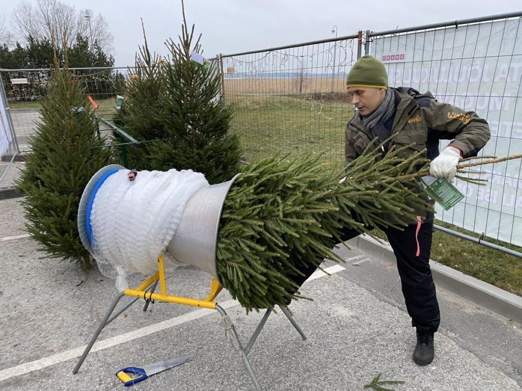 Eestis avati esimesed ööpäev läbi toimivad jõulupuude iseteeninduspunktid