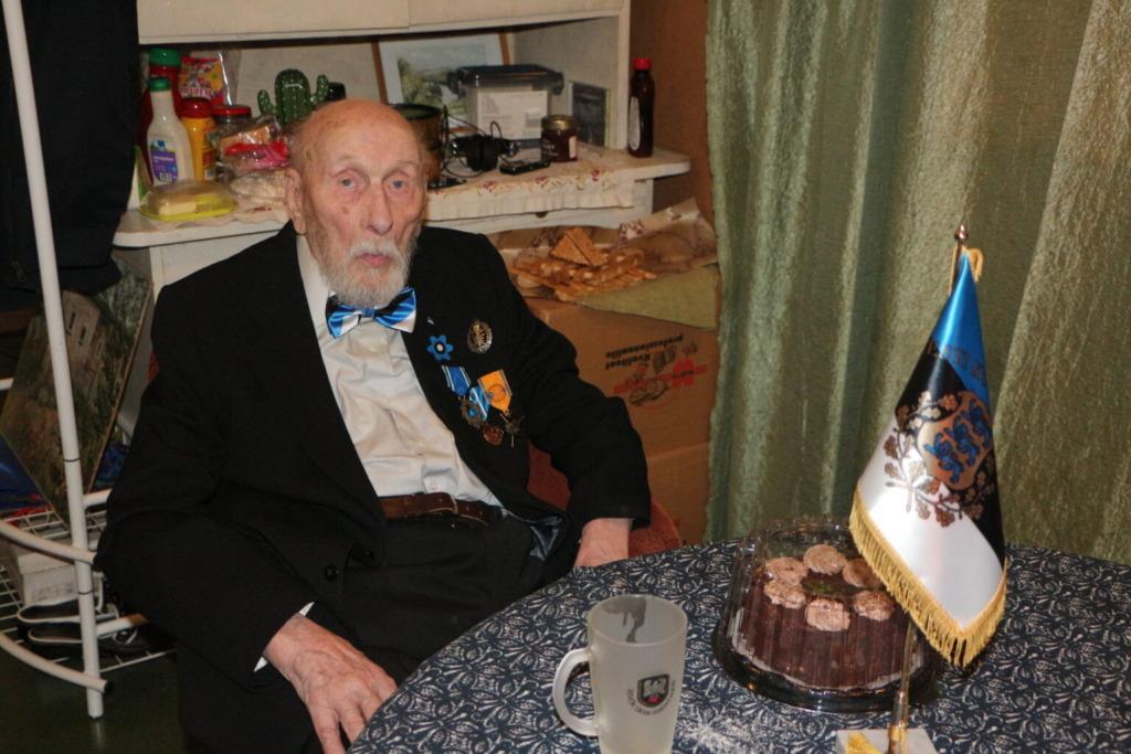 Raua tänava lahingu veteran sai 103-aastaseks