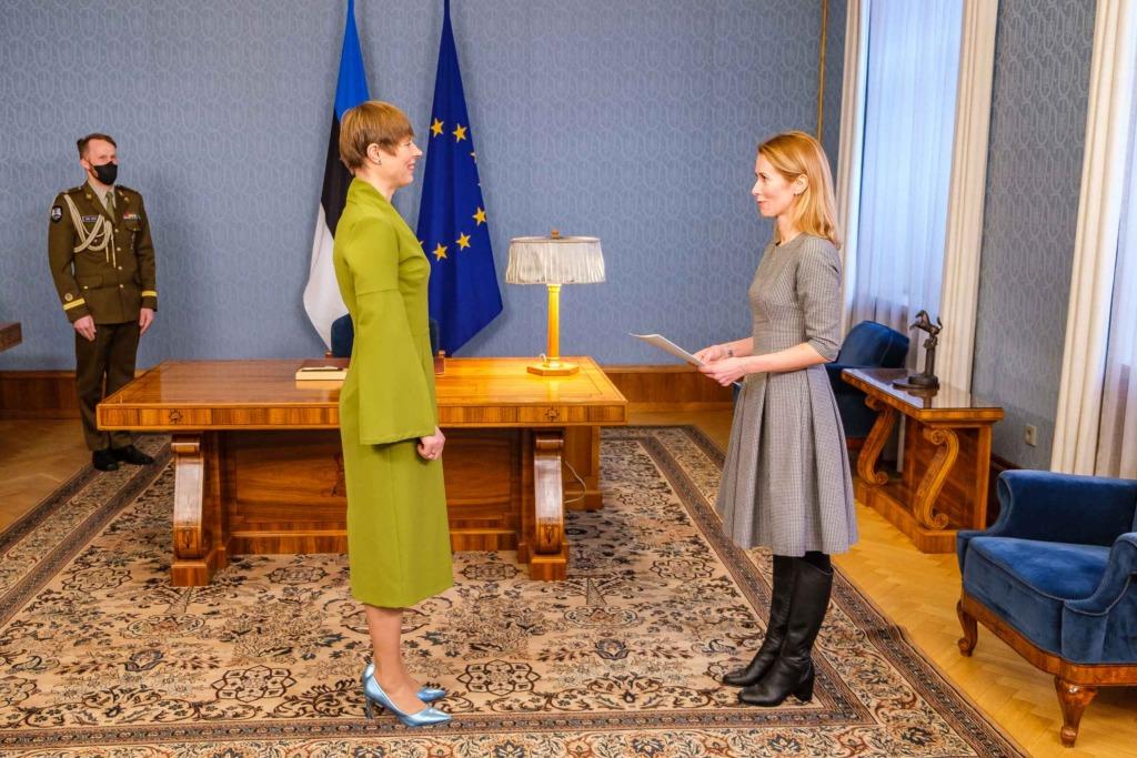 Kersti Kaljulaid ja Kaja Kallas