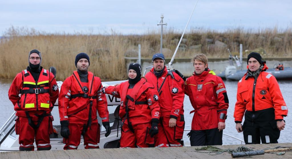 Virtsu vabatahtlikud merepäästjad Foto-Virtsu SAR (1)