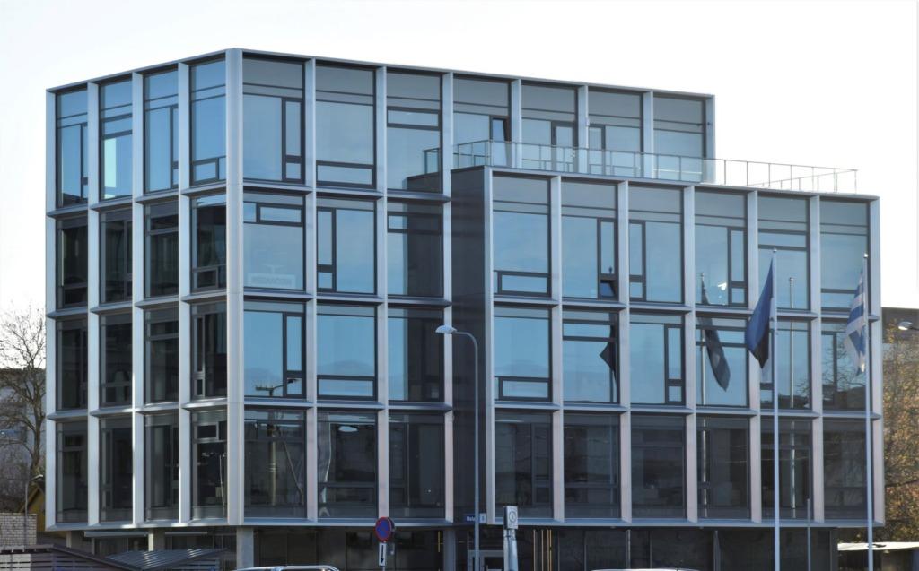 Kristiine LOV uus hoone pälvis Euroopa rohelise kontori tunnistuse