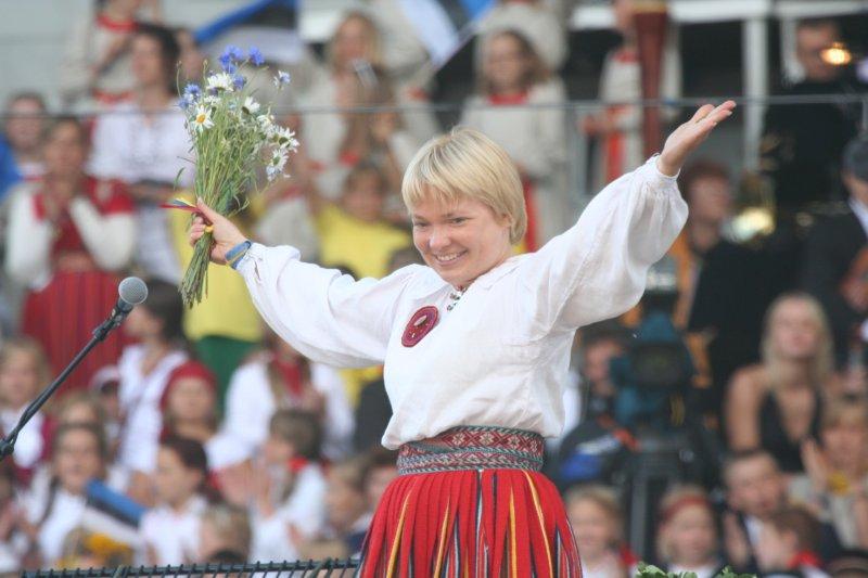 Eesti Kooriühingu tegevjuht Kaie Tanner 2019