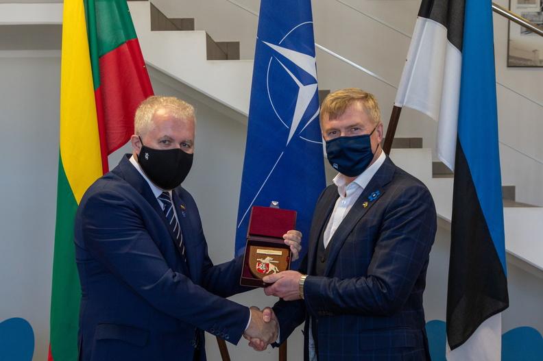 Kaitseminister Kalle Laaneti visiit Tapale