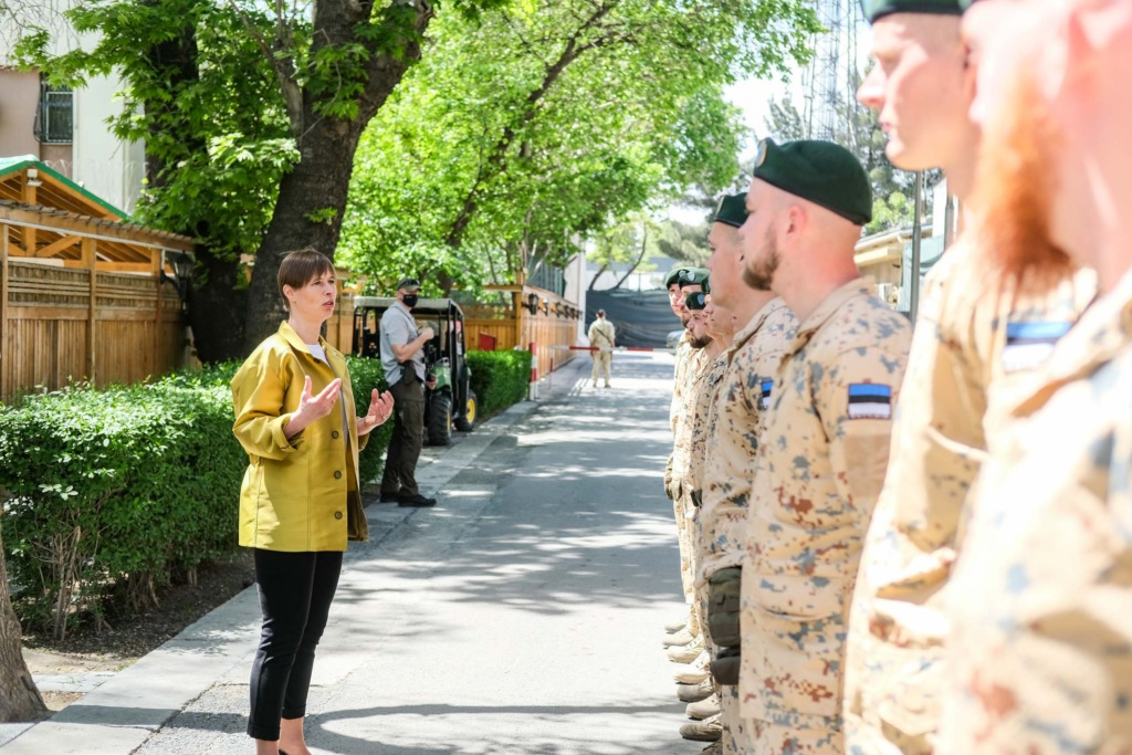 FOTOD I Vabariigi President Afganistanis teenivatele kaitseväelastele: iga teie siin teenitud päev teeb Eestit turvalisemaks
