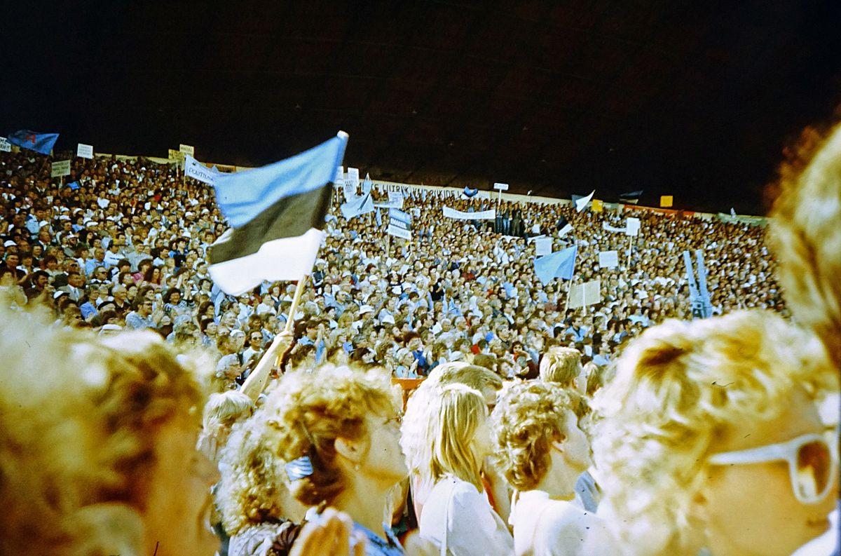 Lauluväljak 1988, foto Tõnu Talivee