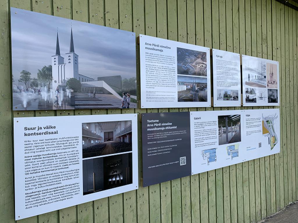 Rakveres avati Arvo Pärdi muusikamaja tutvustav välinäitus