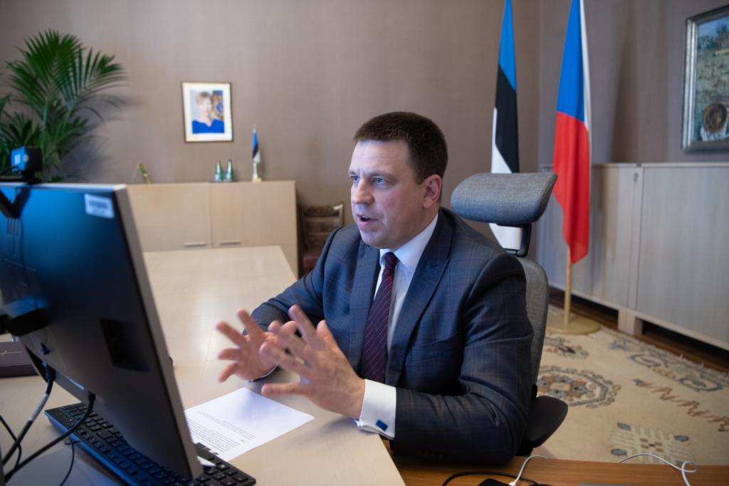 Riigikogu esimees kõneles Tšehhi ametikaaslasega andmeturvalisuse tagamisest e-riigis