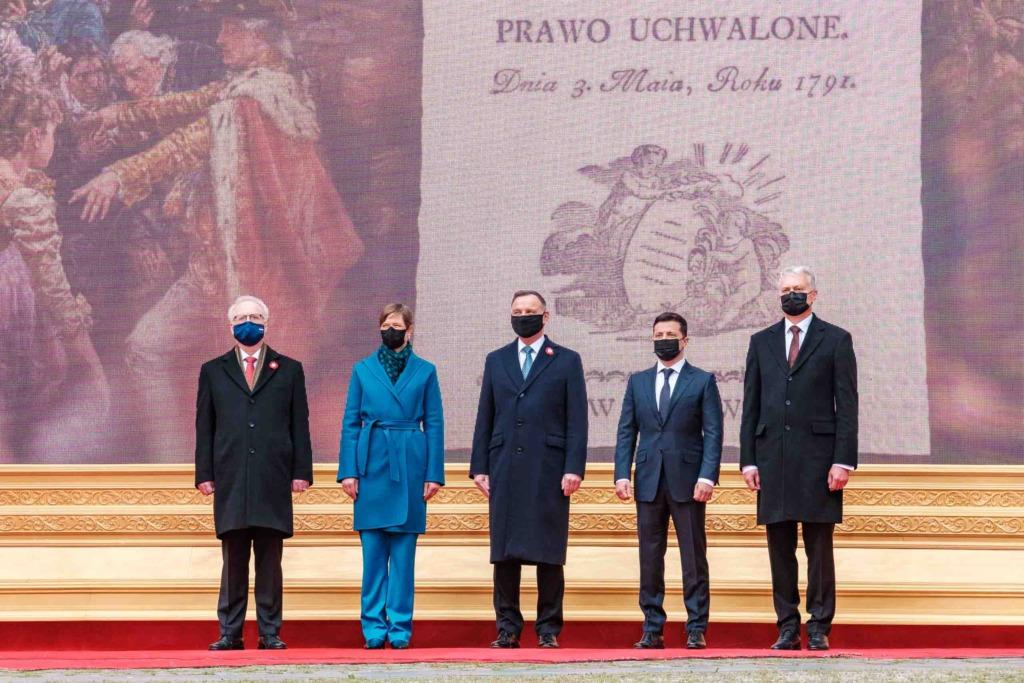 President Kaljulaid tähistas Varssavis Poola konstitutsioonipäeva