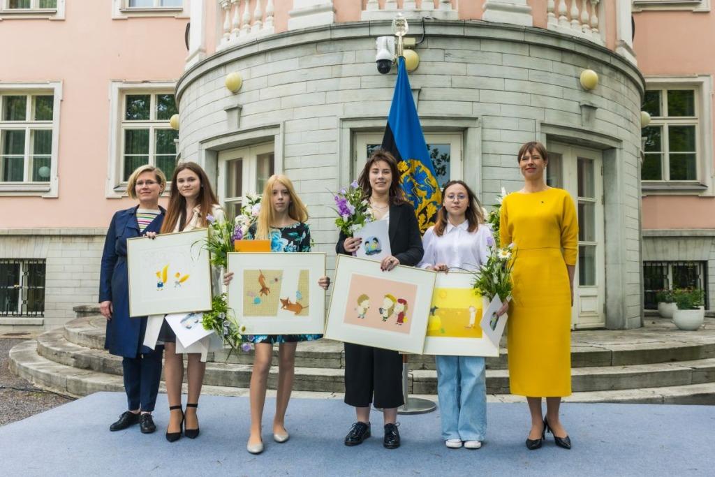 """FOTOD I President Kaljulaid kõneles tunnustusauhindade """"Lastega ja lastele"""" üleandmisel"""