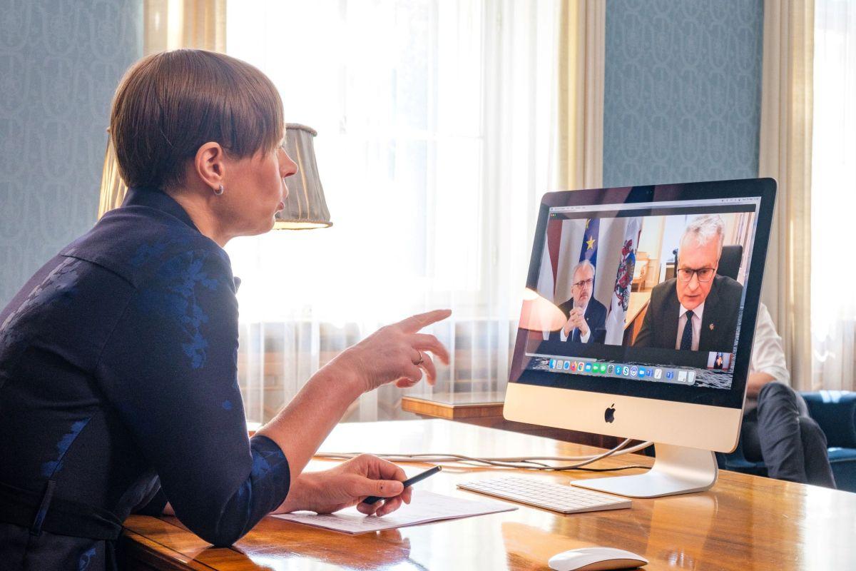 Kolme Balti riigi presidendi hinnangul tuleb viivitamatult lõpetada lennuühendused Valgevenega