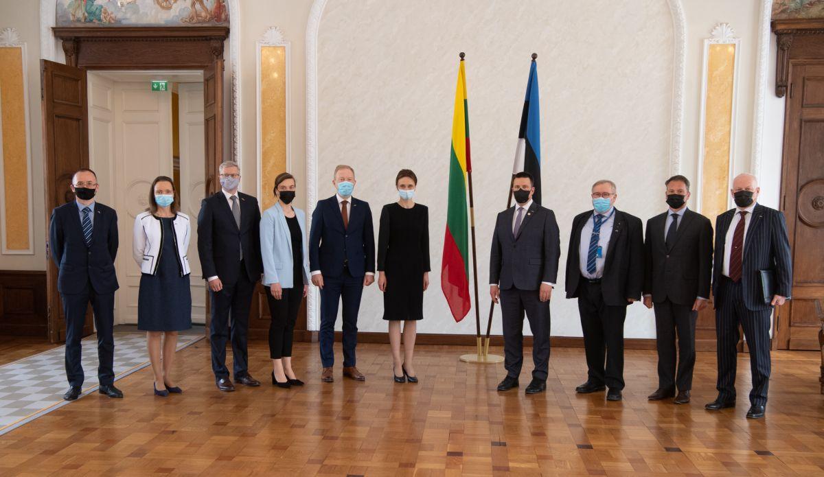 Leedu parlamendi esimehe Viktorija Čmilytė-Nielseni visiit